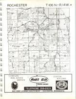 Map Image 008, Olmsted County 1965